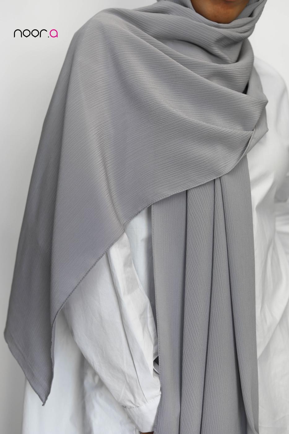 hijab-soie-de-medine-plissé-gris (2)