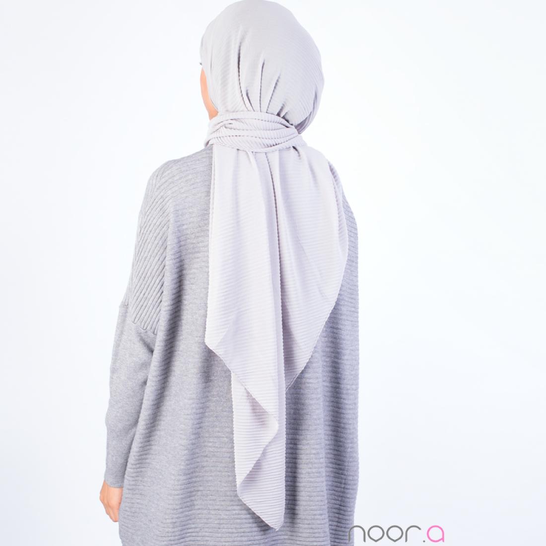 hijab_plisse_gris1