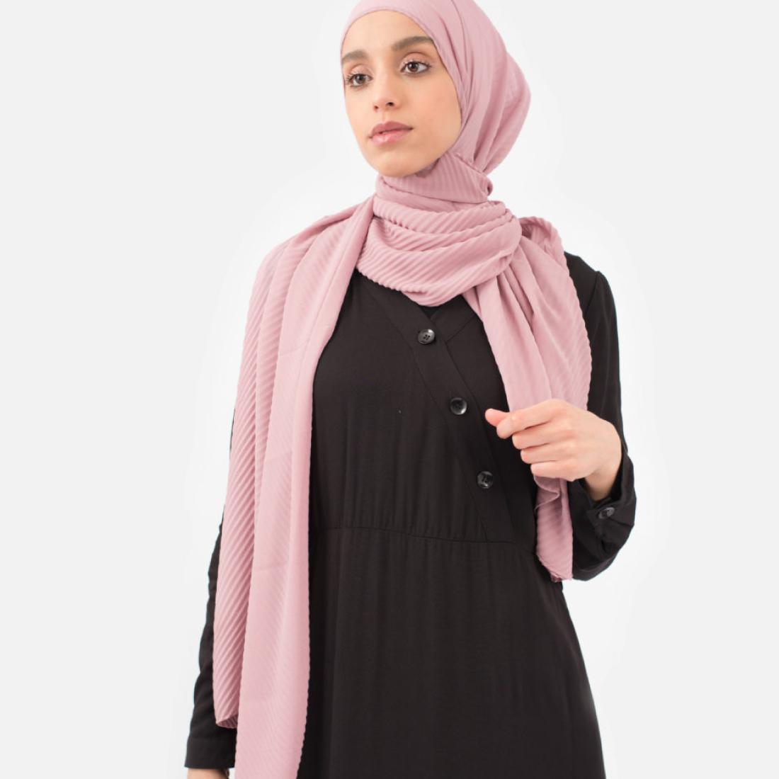 hijab_plisse_vieux_rosee