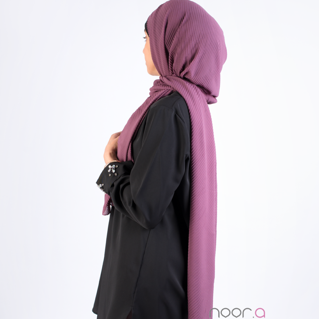 hijab_plisse_violet