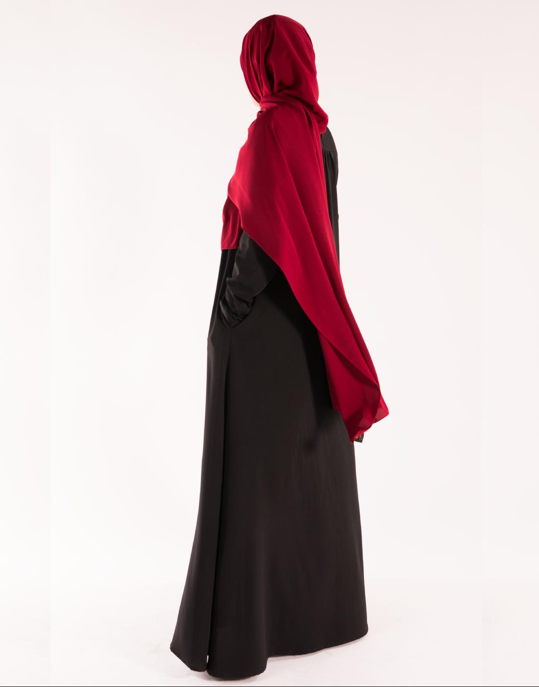 hijab_soie_de_Medine_rouge_cerise (2)