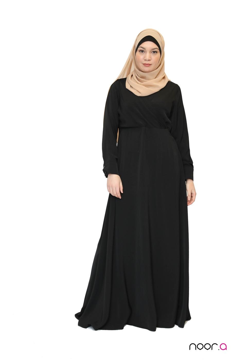 robe-longue-cache-coeur-noir-hijab-mousseline-luxe-beige (7)